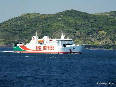 Algeciras Ferries Passing 27 Apr 2014