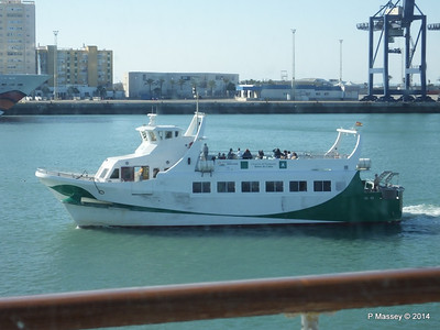 Bahia de Cadiz local passenger ferry PDM 26-04-2014 17-54-21