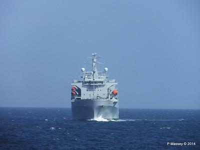 RFA ARGUS passing English Channel PDM 22-04-2014 14-11-05