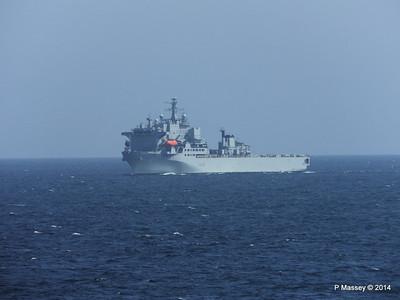 RFA ARGUS passing English Channel PDM 22-04-2014 14-06-10