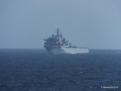 RFA ARGUS passing English Channel PDM 22-04-2014 14-04-05