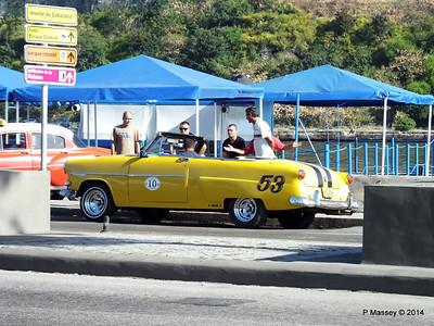 Cars along Avenida del Puerto Havana 03-02-2014 09-50-047