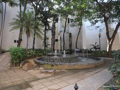 Sculpture of Ruminahui Parque Guayasamin Havana 03-02-2014 09-26-58