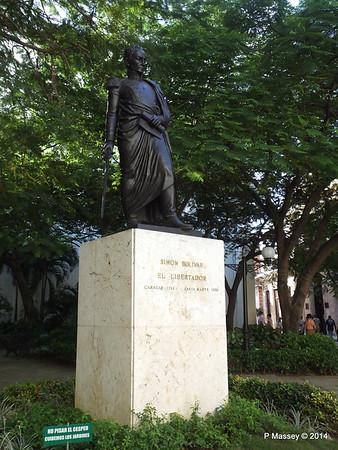 Statue Simón Bolívar Havana 03-02-2014 09-30-53
