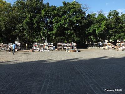 Book Market Plaza de Armas Havana 03-02-2014 09-07-15