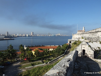Across Havana Bay's Entrance from El Morro 01-02-2014 09-14-25