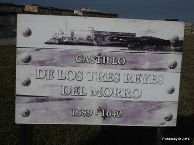 Castillo de Los Tres Reyes sign 01-02-2014 09-16-34
