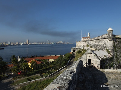 Across Havana Bay's Entrance from El Morro 01-02-2014 09-14-53