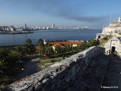 Across Havana Bay's Entrance from El Morro 01-02-2014 09-15-27