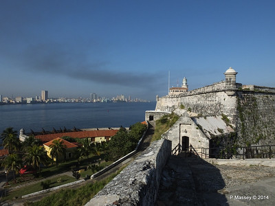 Across Havana Bay's Entrance from El Morro 01-02-2014 09-14-33