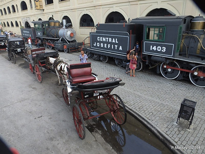 Locomotives 1403 & 1501 Horse Carriages Craft Market 01-02-2014 13-01-13