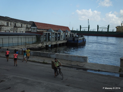 Ferry Terminal LA HABANA to Casablanca MANUELA 01-02-2014 13-02-24
