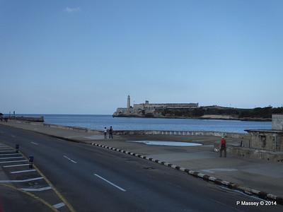 El Morro from Avenida del Puerto 01-02-2014 13-07-11