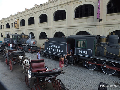 Locomotives 1403 & 1501 Horse Carriages Craft Market 01-02-2014 13-01-07