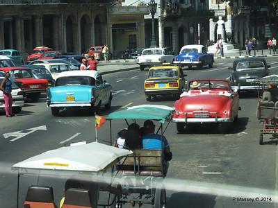 Cars Paseo de Marti Parque Central 01-02-2014 13-21-07