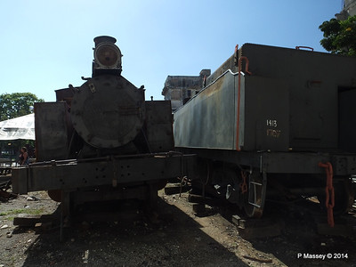Locomotive 1124 Henschel Tender 1413 1707 behind 01-02-2014 11-31-52