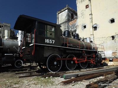 Locomotive 1657 Alco 1502 behind 01-02-2014 11-35-53