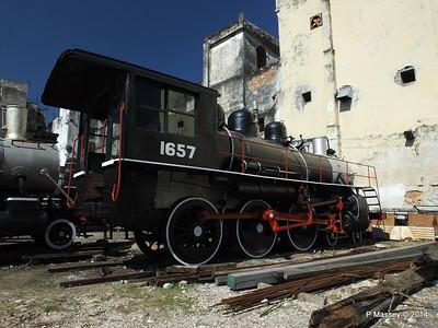Locomotive 1657 Alco 1502 behind 01-02-2014 11-35-55