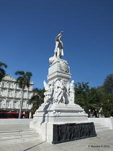 José Marti Statue Parque Central 01-02-2014 10-33-20