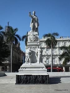 José Marti Statue Parque Central 01-02-2014 10-32-56