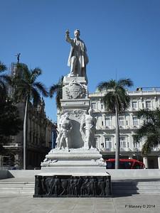 José Marti Statue Parque Central 01-02-2014 10-32-54