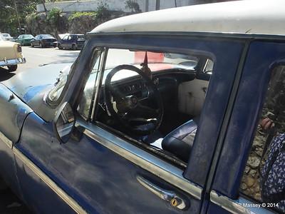 Blue Car Calle 0 Havana 10-02-2014 13-38-56