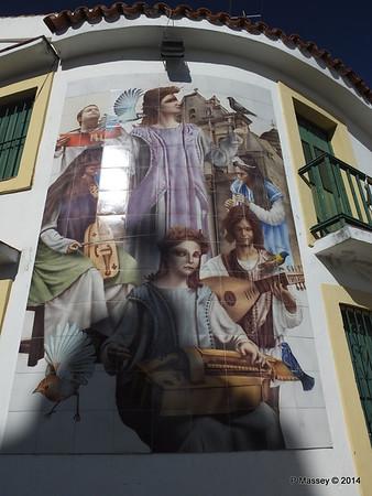 Church Tile Mosaic corner San Ignacio Leonor Perez 02-02-2014 10-18-01