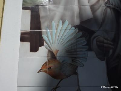 Church Tile Mosaic corner San Ignacio Leonor Perez 02-02-2014 10-18-11