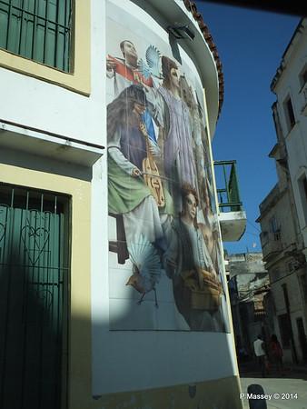 Church Tile Mosaic corner San Ignacio Leonor Perez 02-02-2014 10-17-43