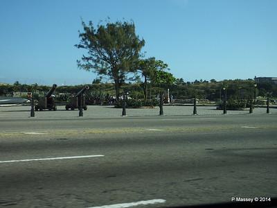 Guns of Castillo la Punta Havana 02-02-2014 09-18-03