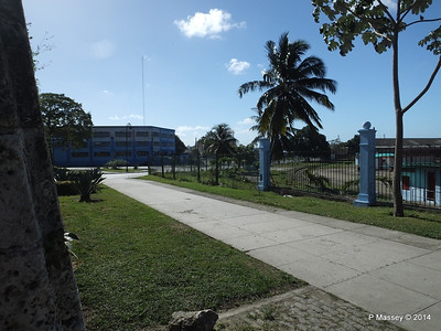 Railway Depot through the Old Town Wall Havana 02-02-2014 10-21-35