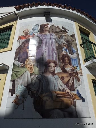 Church Tile Mosaic corner San Ignacio Leonor Perez 02-02-2014 10-17-59