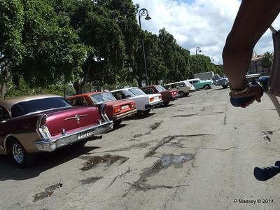 Car Park Cuba Tacon Havana 31-01-2014 18-01-17