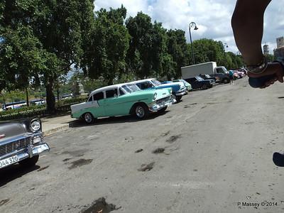 Car Park Cuba Tacon Havana 31-01-2014 18-01-26