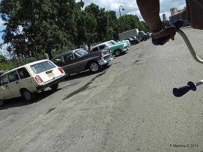 Car Park Cuba Tacon Havana 31-01-2014 18-01-23