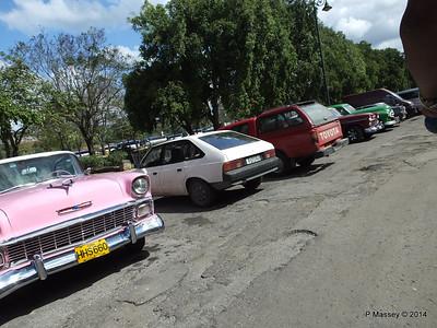 Car Park Cuba Tacon Havana 31-01-2014 18-01-43