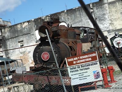Restoration Details with Locomotive 1357 Baldwin 31-01-2014 10-38-00