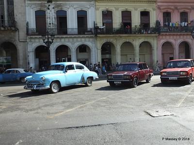 Cars Paseo de Marti at El Capitolio 31-01-2014 10-33-59