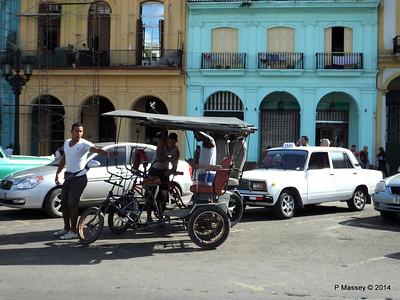 Cycle Rickshaw Paseo de Marti at El Capitolio 31-01-2014 10-34-26