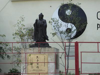 Statue of Confucius Shanghai Park Havana 31-01-2014 10-42-044