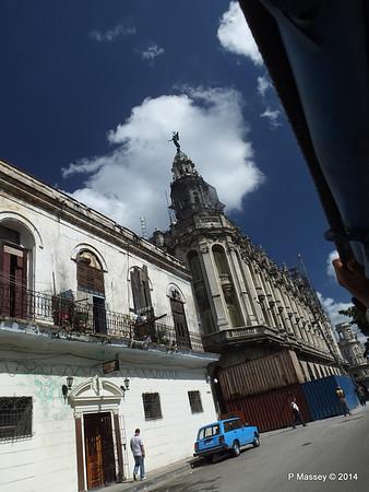 Along San Jose to Gran Teatro de la Habana 31-01-2014 12-31-30