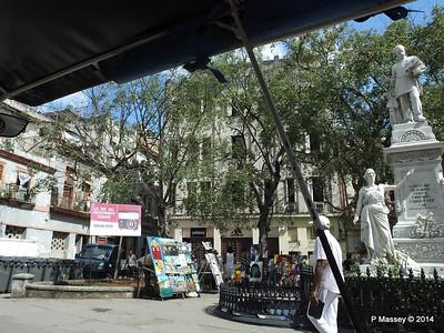 Park & Statue Francisco de Albear y Lara 31-01-2014 12-35-22