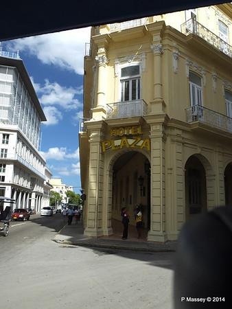 Hotel Plaza San Juan de Dios  to Parque Central Havana 31-01-2014 12-36-49