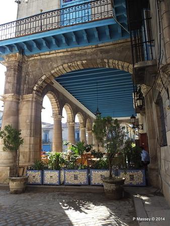 El Patio Restaurant Plaza de la Catedral Havana 31-01-2014 09-21-34