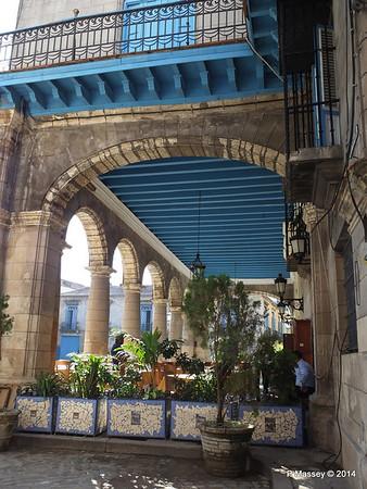 El Patio Restaurant Plaza de la Catedral Havana 31-01-2014 09-21-29