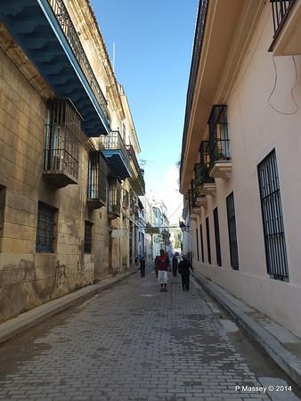 Empedrado off Cathedral Square Havana 31-01-2014 09-21-42