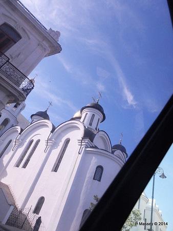 Russian Orthodox Cathedral route to Jose Marti Airport 10-02-2014 16-00-51