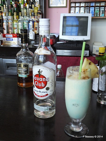Pina Colada add your own Rum Nacional de Cuba 02-02-2014 12-21-20