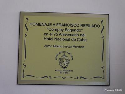 Tribute to Francisco Repilado 02-02-2014 12-17-23
