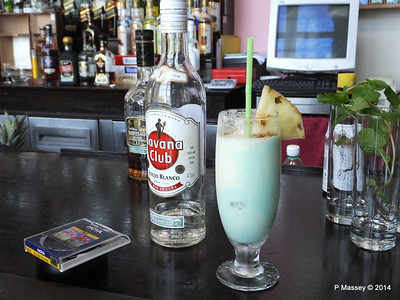 Pina Colada add your own Rum Nacional de Cuba 02-02-2014 12-21-14